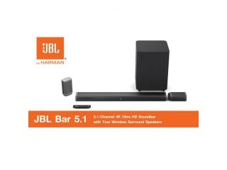 JBL Bar 5.1 Powerful 4K UHD Soundbar with Wireless Surround Speakers