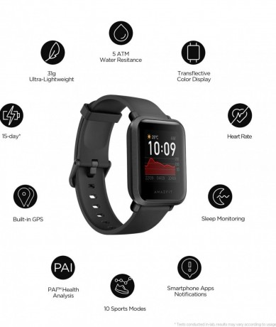 amazfit-bip-s-smart-watch-with-built-in-gps-long-battery-life-always-on-display-5atm-water-resistance-carbon-black-big-2