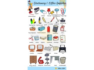 All Short of Stationery Items