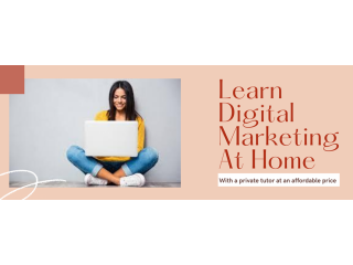 Learn Digital Marketing  At Home (With Private Tutor)