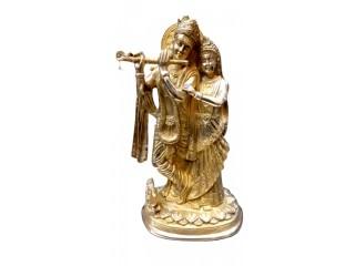 "12"" Radha Krishna Statue"