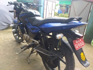 Pulsar 150 blue and black on sell
