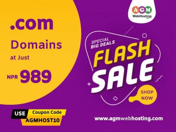 buy-com-domain-at-just-npr989-only-on-agm-web-hosting-big-0
