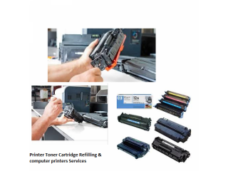 Printer cartridge toner refill