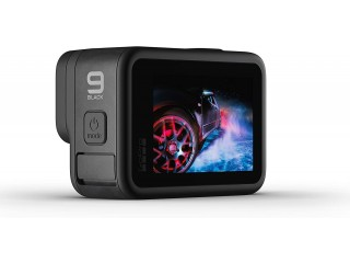New GoPro HERO 9 Black - Waterproof Action Camera with Front LCD and Touch