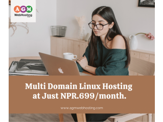 Multi Domain Linux Hosting | Cheap Linux Hosting in Nepal - AGM Web Hosting