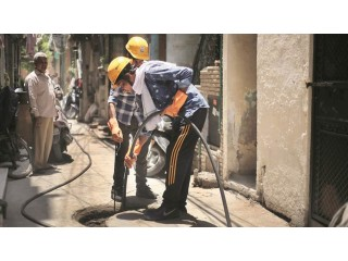 Septic tank and drainage cleaning service in kathmandu Bakhtapur Lalitpur