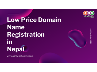 "Dussehra offers Buy Your "".COM""  Domain- NPR 899  Only at AGM WEB HOSTING."