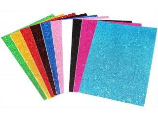 Glitter foam paper/ sheet