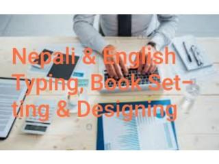 Nepali Typing & English Typing