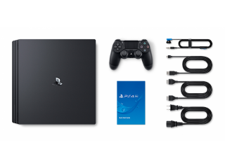 PlayStation 4 pro 1tb console(black)