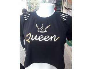 Ladies crop tshirts