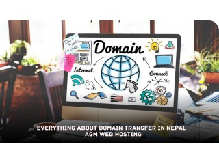 Everything about domain transfer in nepal AGM Web Hosting
