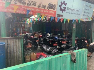 बसुन्धरामा चलिरहेको Motorcycle Workshop सुलभ मुल्यमा बिक्रीमा