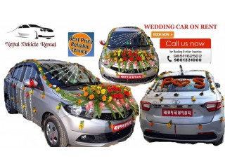 Wedding car on Rent in Kathmandu