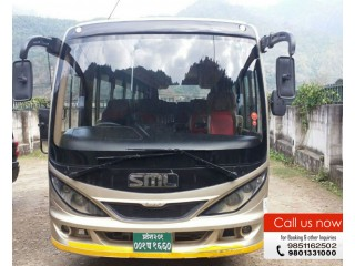 Hire Tourist Bus for Wedding Purpose in Kathmandu