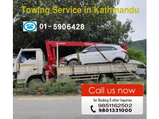 Towing and Crane Service in Kathmandu