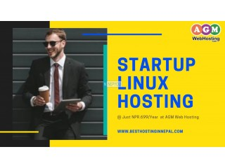 Ready to buy   Linux  hosting startup  at just NPR.699 /year  - AGM Web Hosting