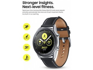 SAMSUNG Galaxy Watch 3 (45mm, GPS, Bluetooth) Smart Watch with Advanced Health Monitoring, Fitness Tracking, and Long lasting Battery