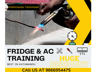 Fridge repair training | Kathmandu Technician |