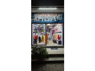 बुढानिलकण्ठ हात्तीगौडामा चलिरहेको बच्चाको फेन्सी पसल (Kids Fancy Shop) सुलभ मुल्यमा बिक्रीमा