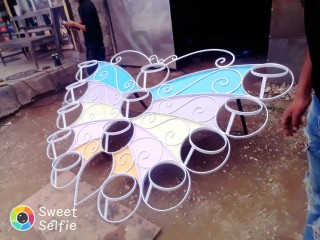 Butterfly gamala stand
