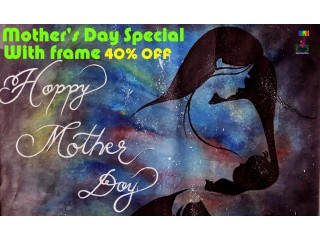 Mother Day Special ( Mother Of World Painting )