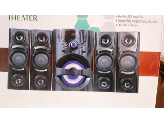 Stereo Bass Surrounding Woofer With 5 Side And Front Speakers
